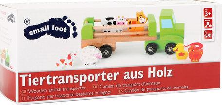 Houten dieren Transporter