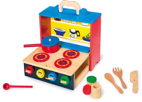 Houten speelkeuken