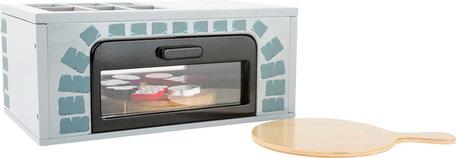 Pizza oven voor de speelkeuken