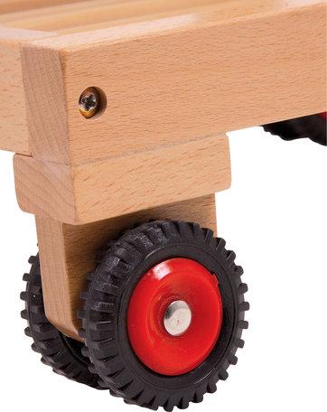 Winkelwagentje hout
