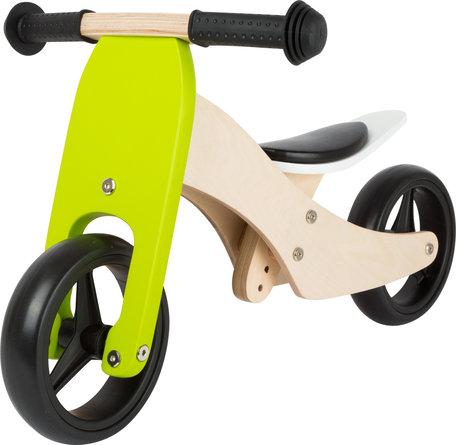 Loopfiets + Trike 2-in-1 - hout