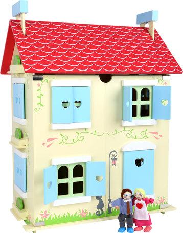 Poppenhuis - Verwijderbaar dak