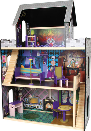 Poppenhuis - monsters + 8 meubels
