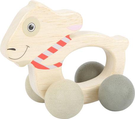 Ludwig het geitje - op wieltjes