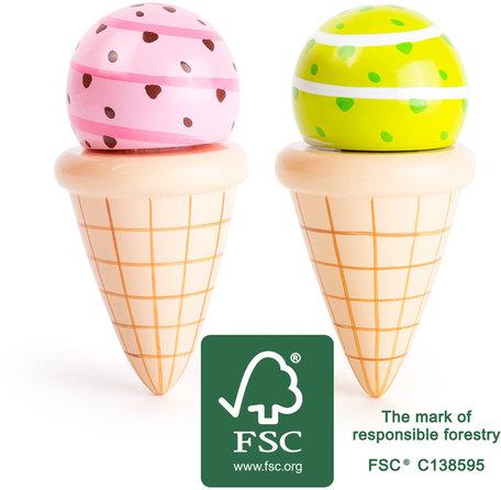 Ijs hoorntjes - FSC