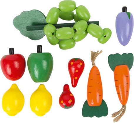 Houten groente box - 10 stuks