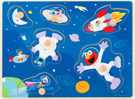 Puzzel SESAMSTRAAT - In de ruimte - FSC
