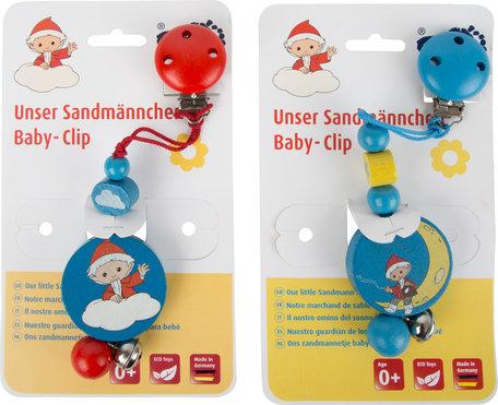 Baby houten clip - Klaas Vaak