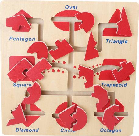 Puzzel vormen - motoriek trainer