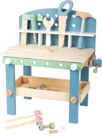 Houten speelgoed werkbank compact - Nordic
