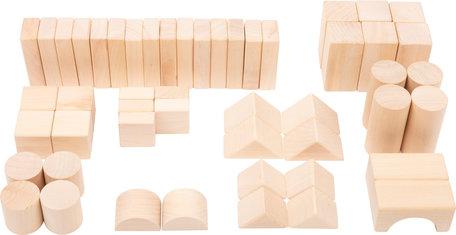 Natuurlijk bouwblokken - 50 stuks