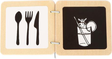 Ludwig het geitje - Baby boekje (contrast)