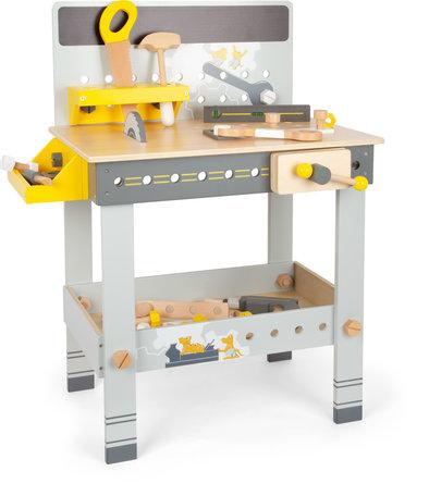 Houten speelgoed werkbank - Miniwob