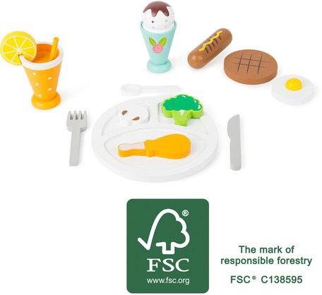 Lunch pauze - speelset - FSC