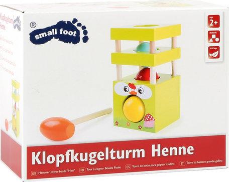 Hamer spel - Kralen toren - Kip