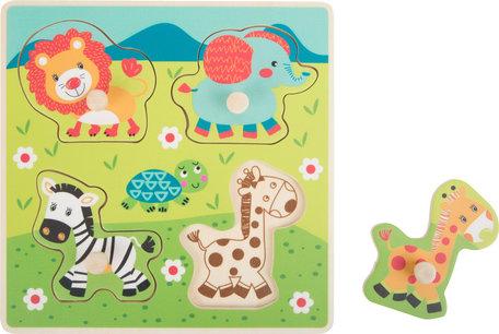 Houten Safari Puzzel