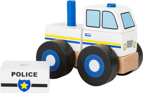 Bouwvoertuig -  Politie auto - FSC
