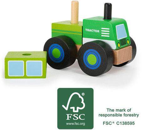 Bouwvoertuig -  Traktor - FSC