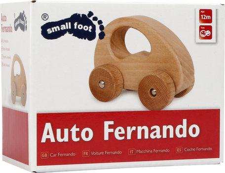 Natuurlijk houten - Auto gripspeelgoed