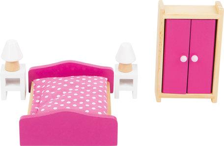 Poppenhuis meubels - Slaapkamer