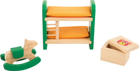 Poppenhuis meubels - Kinderkamer