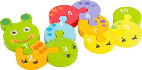 Puzzel nummers leren