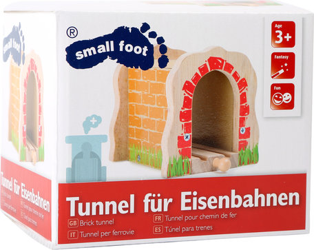 Spoorweg tunnel - hout