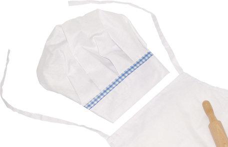 Kokskleding voor kinderen - 4 delig
