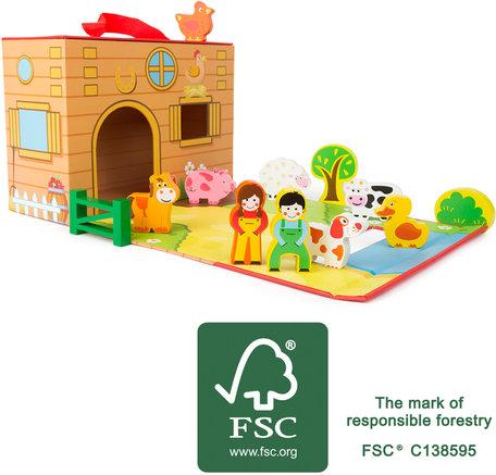 Boerderij speelset - FSC