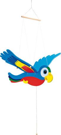 Swingende papegaai