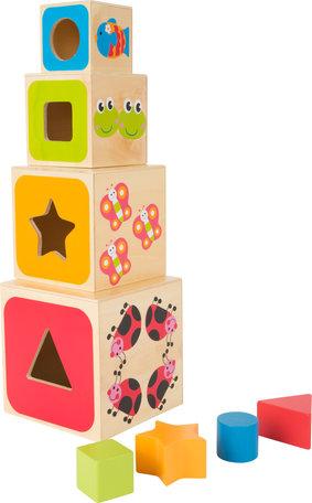 ABC Kubus blokken + letters en vormen