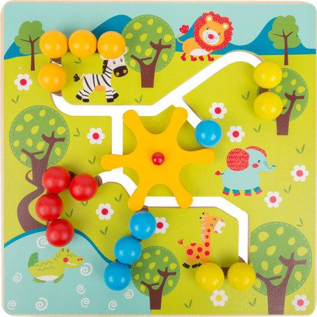 Puzzel - savanne doolhof