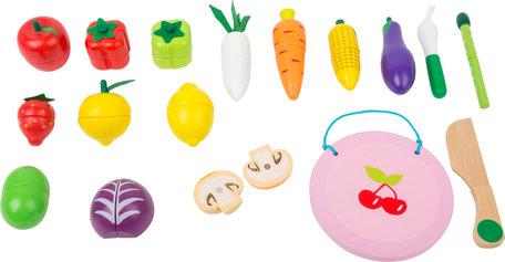 Snijdbare magnetisch fruit en groente