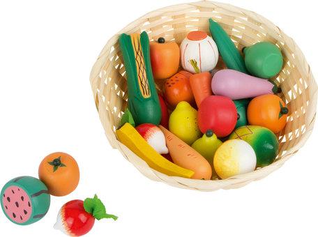 Groente schaal voor de kinderwinkel of keuken