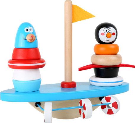 Zuid pool puzzel en balans spel! - pinguin en vrienden