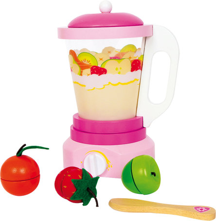 Houten Mixer voor speelkeuken