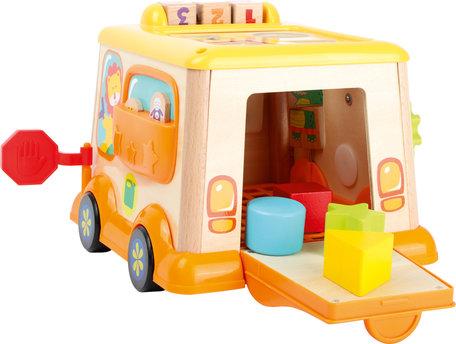 Vormenstoof Schoolbus - dieren