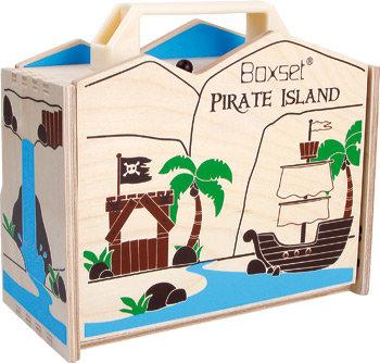 Piraten eiland in een box