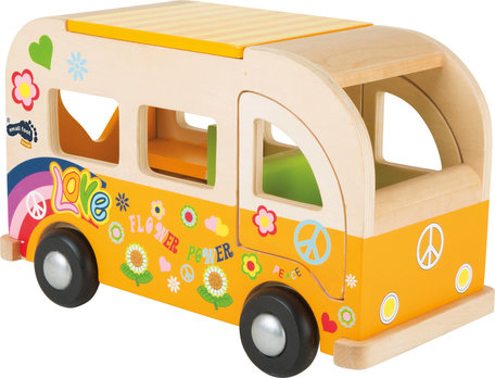 Hippie bus - hout
