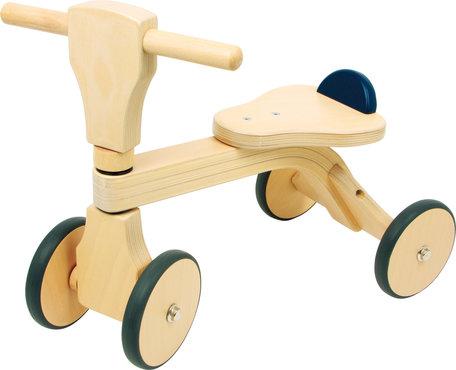 Loopfiets 4 wielen - Hout