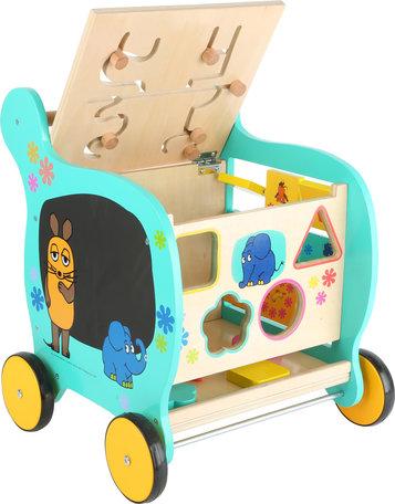 Loopwagen Olifant en de muis + leuke spellen