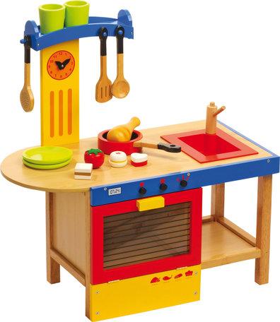 Houten speelkeukentje