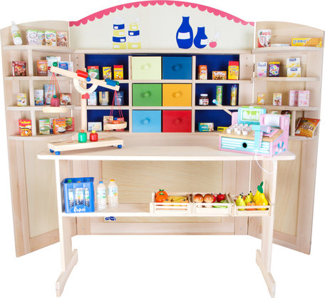 Verkoop stand (Ook om te bouwen tot poppentheater