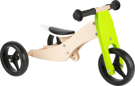 Loopfiets + Trike 2-in-1 - hout