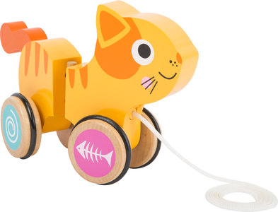"Trekfiguur dieren ""Kitty"" de kat"
