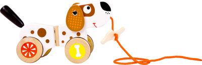 """Trekfiguur dieren """"Puppy"""" de hond"""