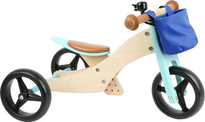 Trainingsfiets 2-in-1 Trike Turquoise