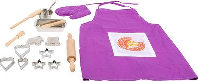 Bak set voor kids - Met koekjessnijders, bakblikken en de uitgebreide accessoires
