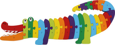 """Puzzel ABC """"krokodil"""""""