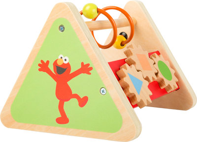 Driehoek motoriek trainer SESAMSTRAAT met Elmo! - FSC